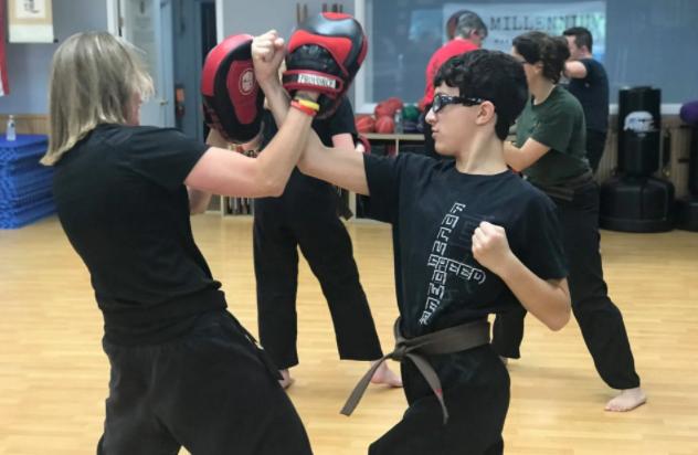 Teens and Adults Karate Martial Arts Self-Defense
