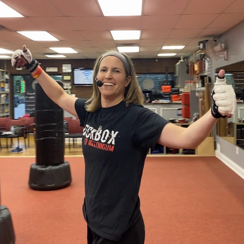 Fitness Kickboxing Inspirational Instructor