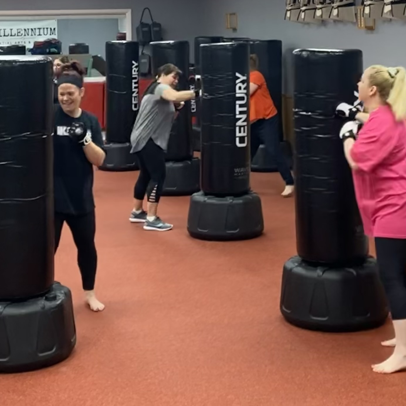 Kickboxing Fitness Bagwork